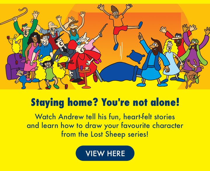 Are you staying at home? You're Not Alone!