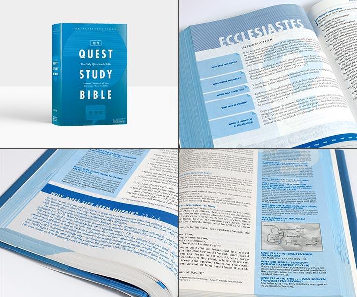 NIV Quest Study Bible