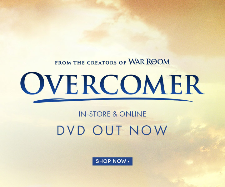 Order your copy of Overcomer DVD!