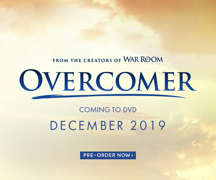 Pre-Order your copy of Overcomer DVD!