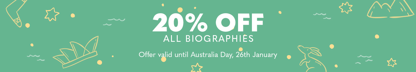 20% Off Biographies