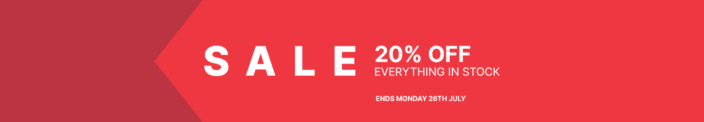 20% Off Sale Everything In Stock