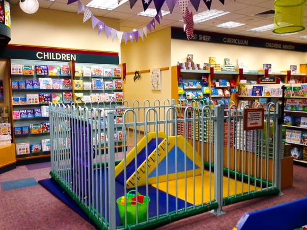 Adelaide store kids area