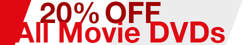 20% Off All Movie DVDs