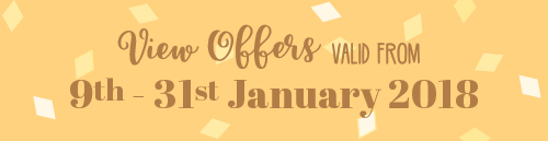 Offers from 9th to 31st January