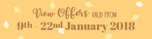 Offers from 9th to 22nd January