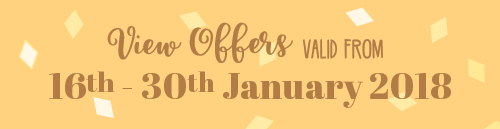 Offers from 16th to 13th January
