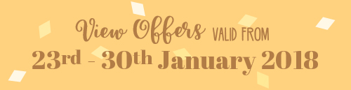 Offers from 23rd to 30th January