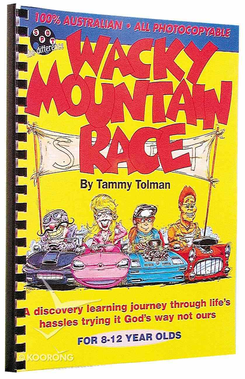 Wacky Mountain Race (Spot The Difference Curriculum Series) Spiral