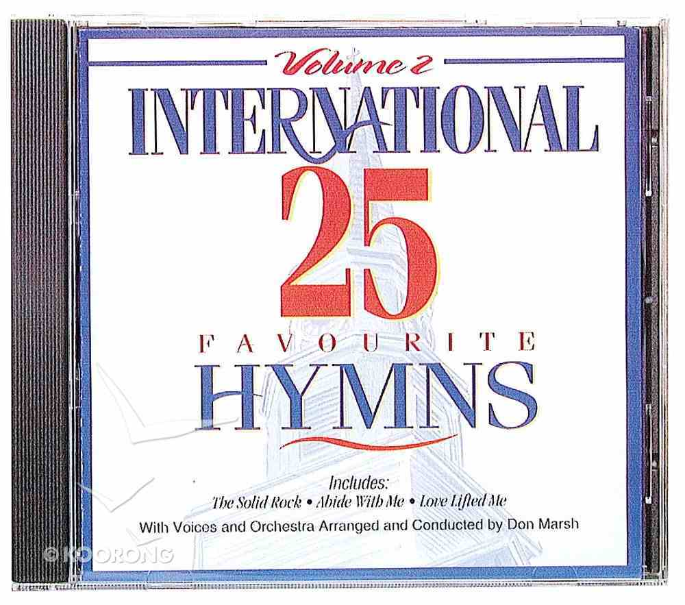 International 25 Favourite Hymns Volume 2 CD