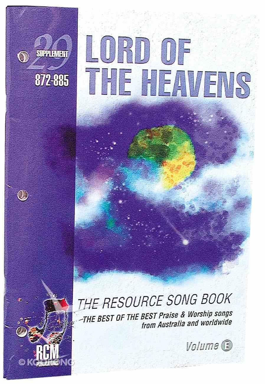 Rcm Supp 29 Music Book Paperback
