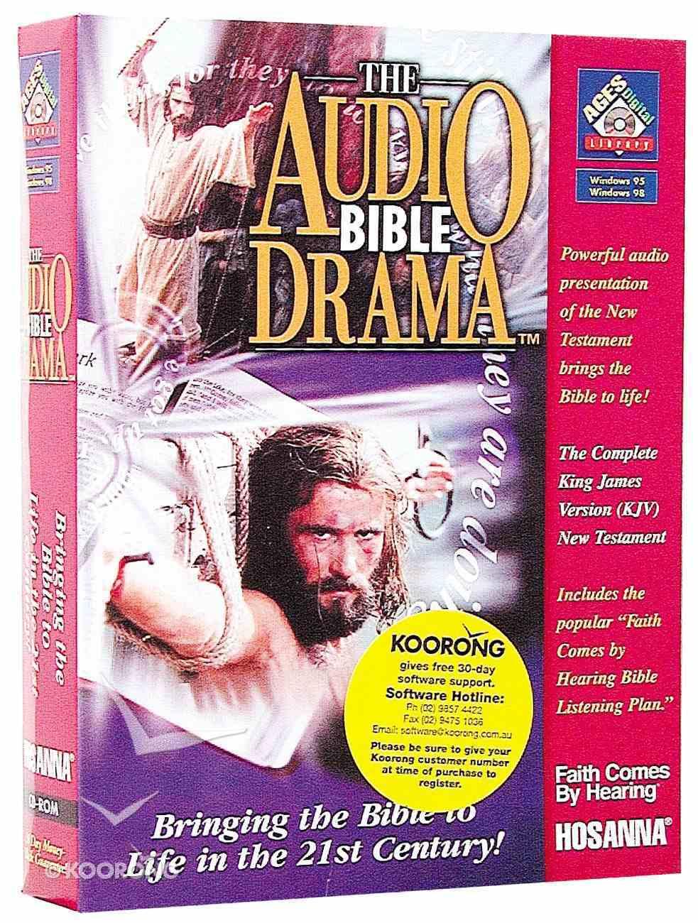 Ages KJV Audio Bible Drama New Testament CDROM Win CD-rom
