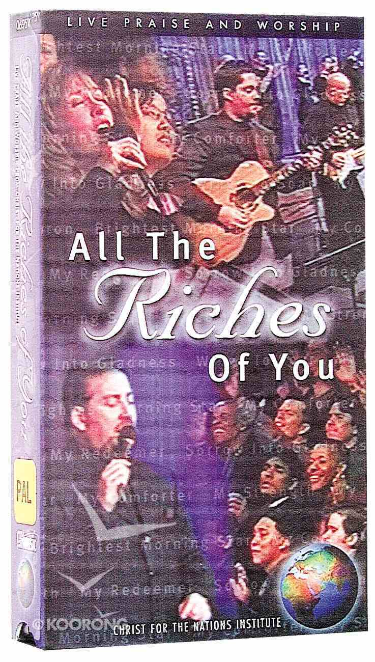 All the Riches of You Cd/Video CD