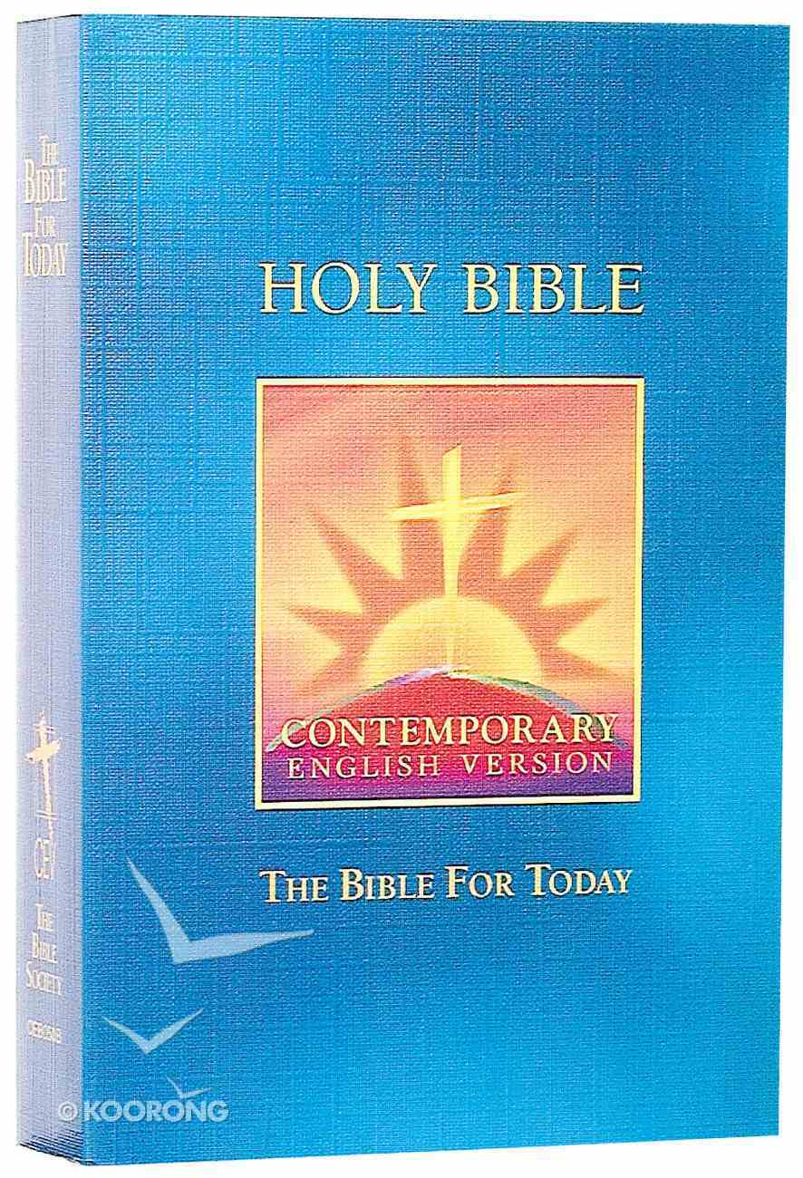 CEV Bible For Today Blue Paperback