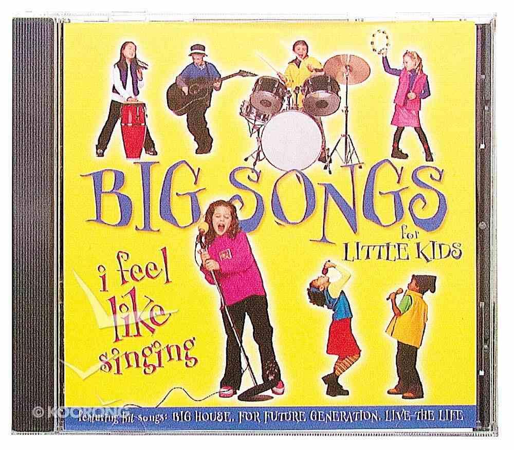 I Feel Like Singing CD