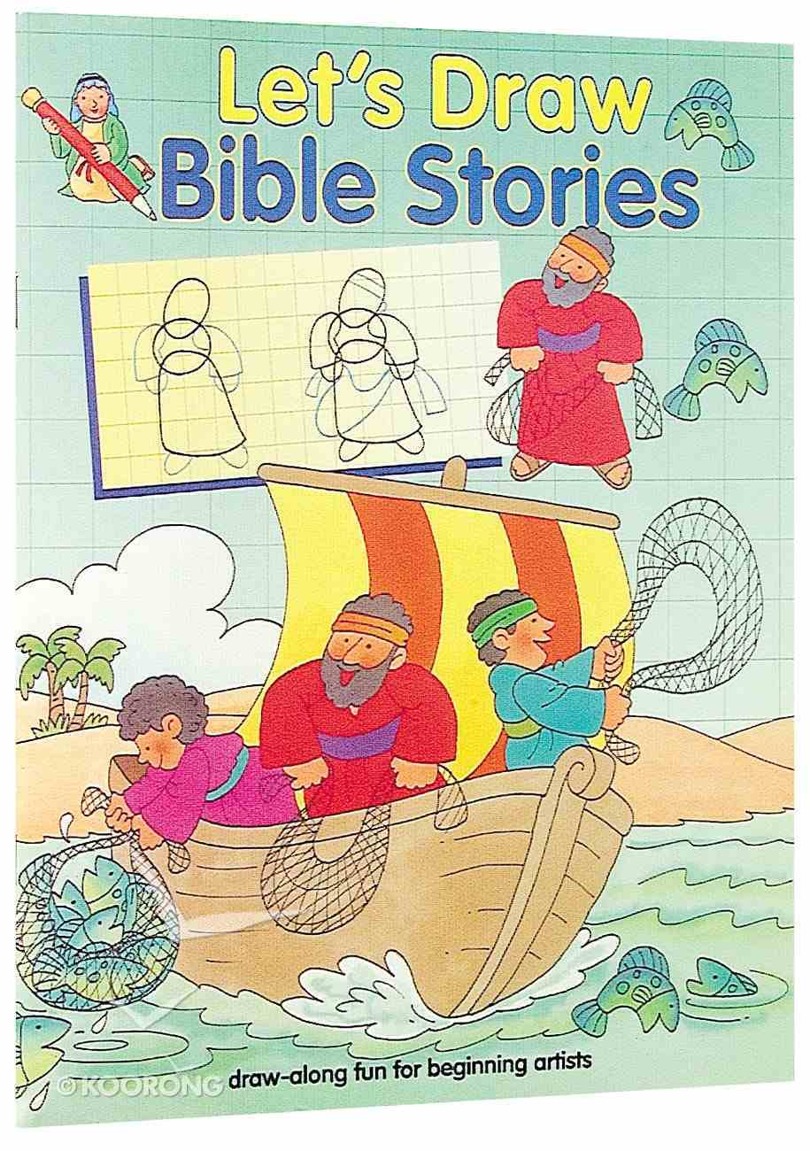 Let's Draw: Bible Stories Paperback