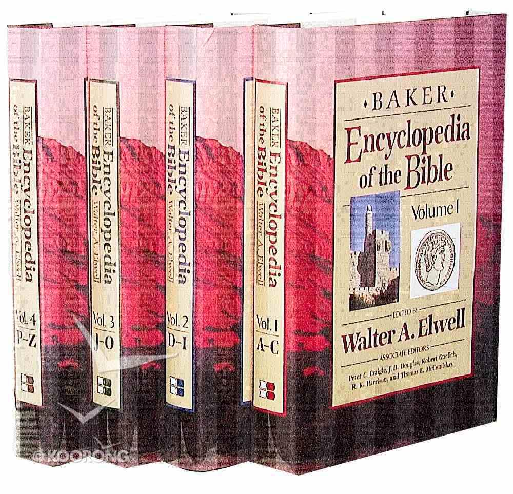 Baker Encyclopedia of the Bible (4 Vol Set) Pack