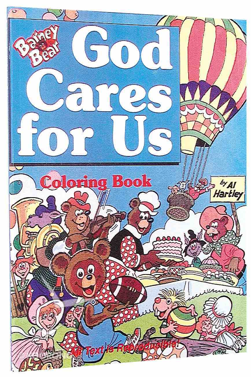 God Cares Colouring Book Paperback
