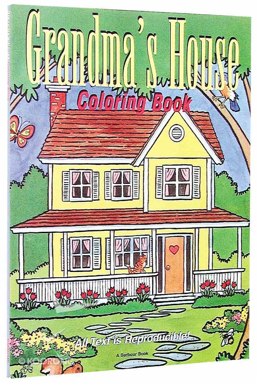 Grandmas House Colouring Book Paperback