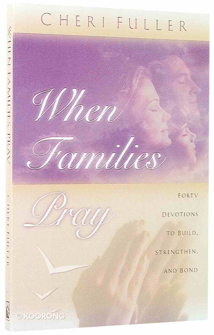 When Families Pray Paperback