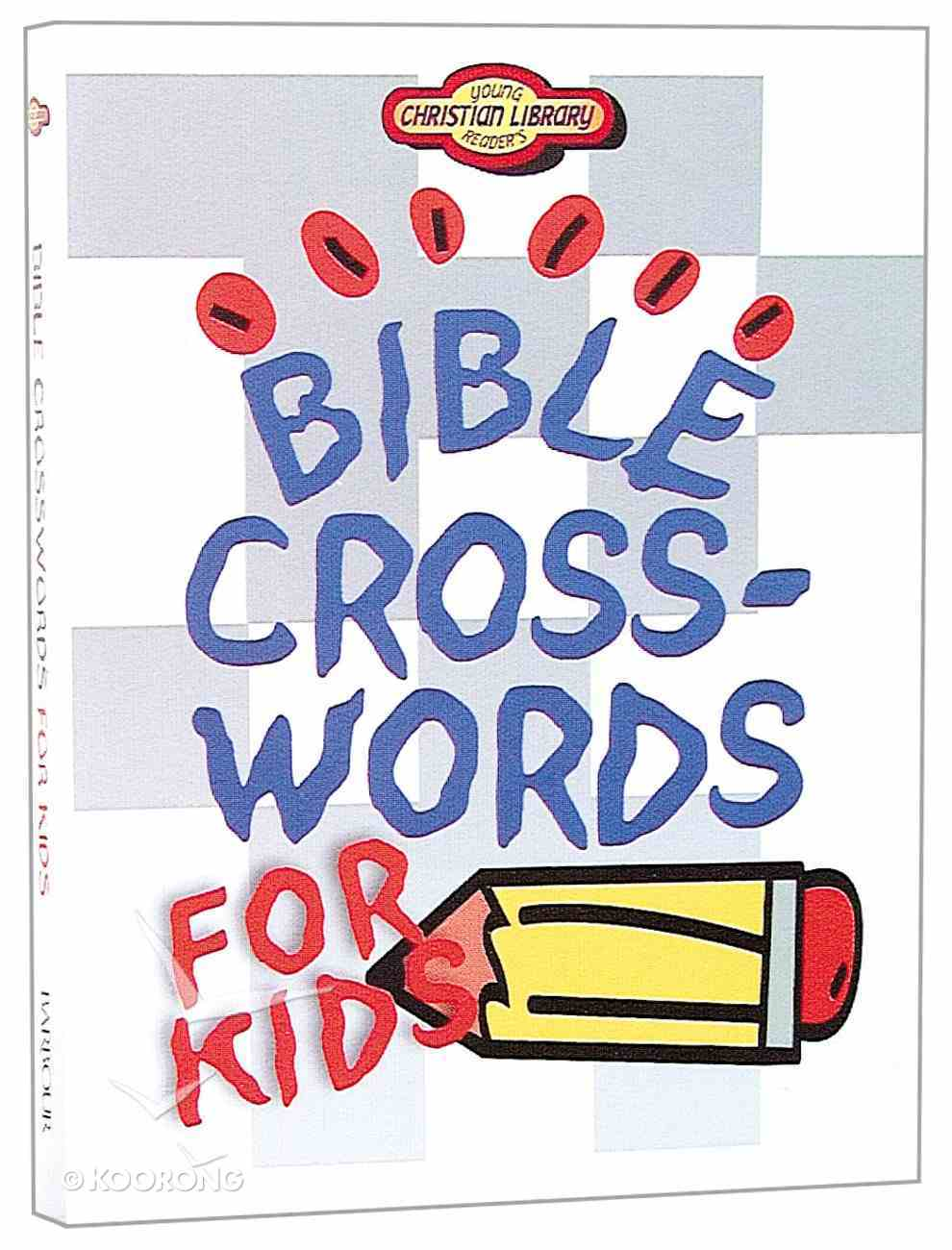 Bible Crosswords For Kids (Young Readers Series) Paperback