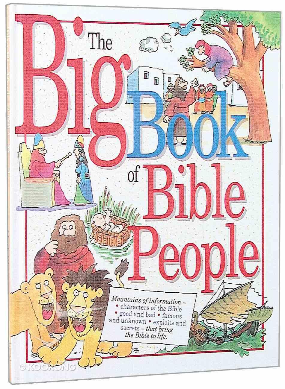 Big Book of Bible People Hardback