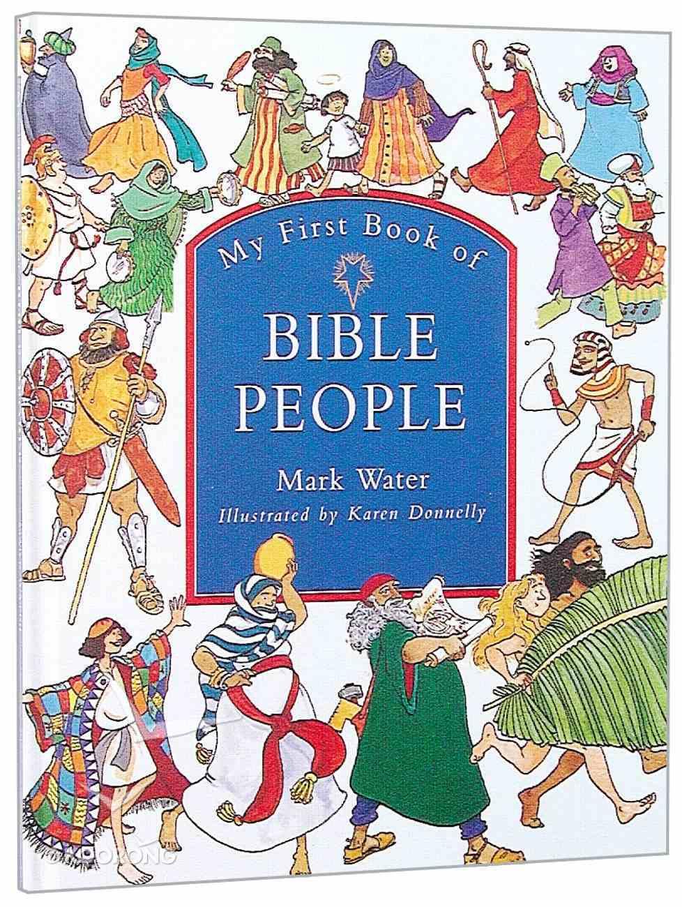 My First Book of Bible People Hardback