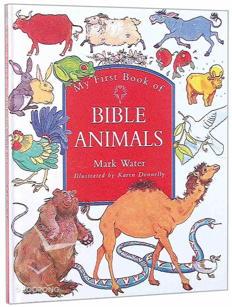 My First Book of Bible Animals Hardback