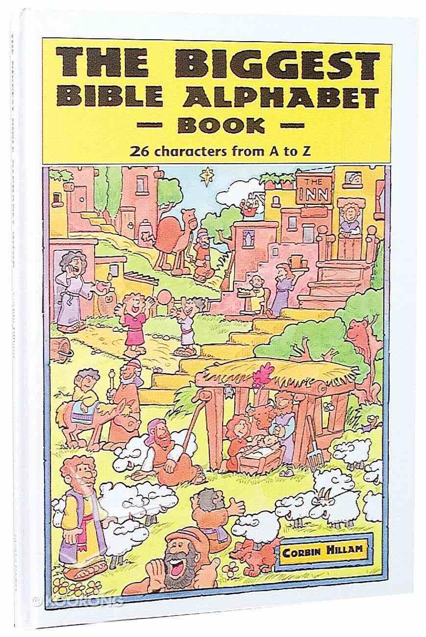 Biggest Bible Alphabet Book Hardback