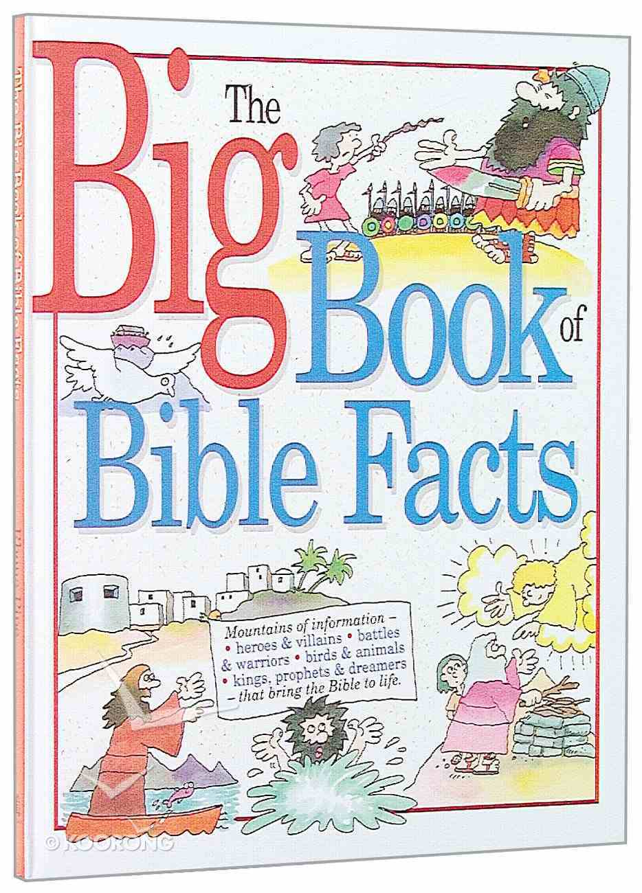 The Big Book of Bible Facts Paperback