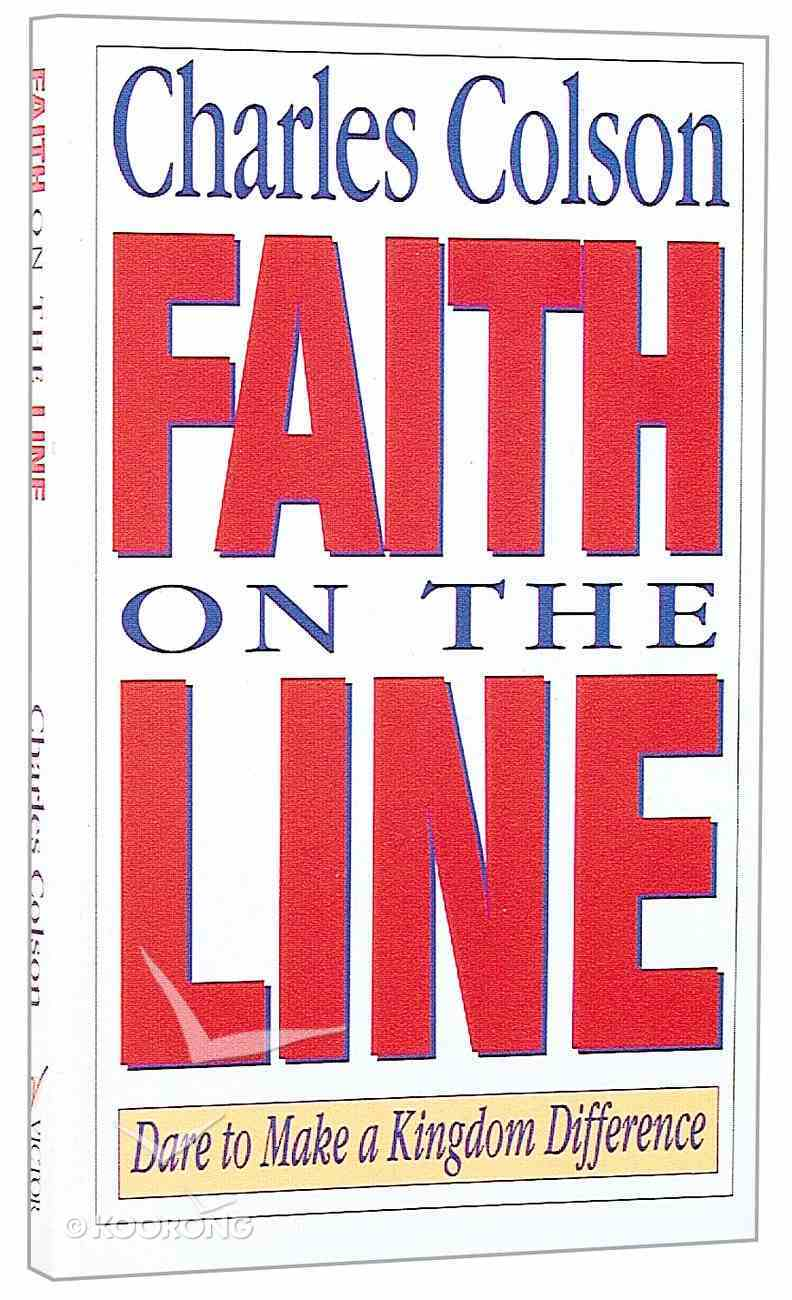 Faith on the Line Paperback