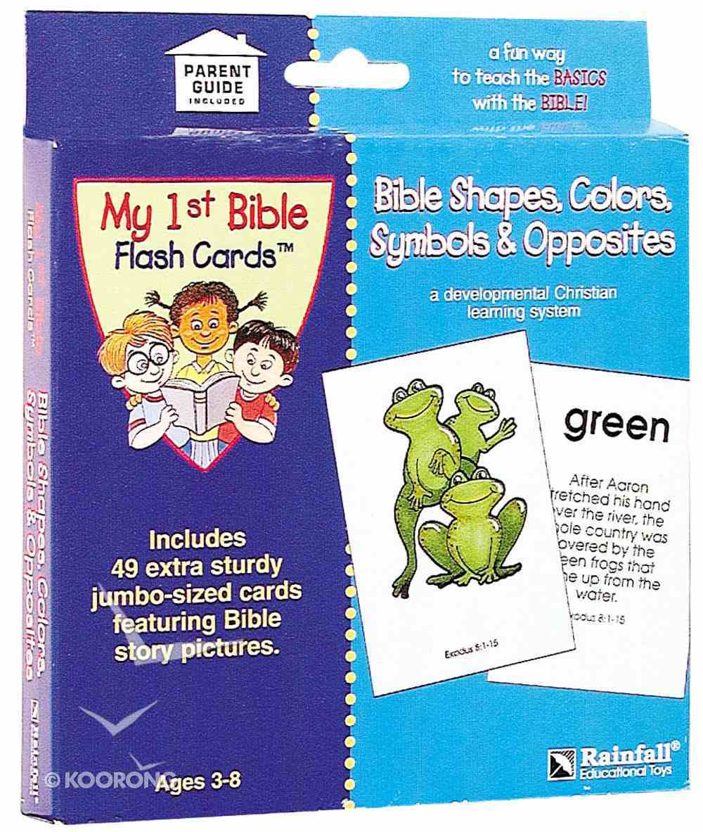 Bible Shapes Colours & More Cards