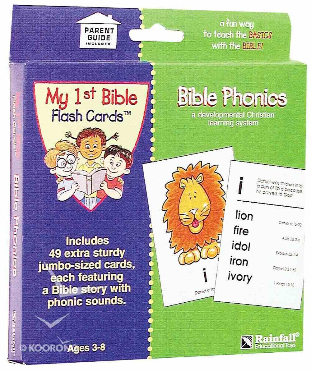 Bible Phonics Cards