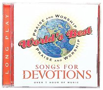 Album Image for World's Best Praise and Worship Songs For Devotions - DISC 1
