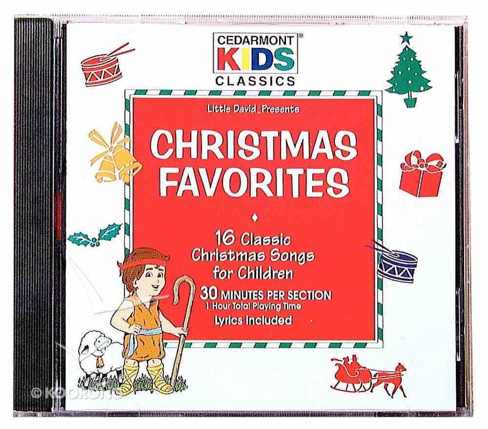 Cedarmont Kids: Christmas Favourites (Kids Classics Series) CD