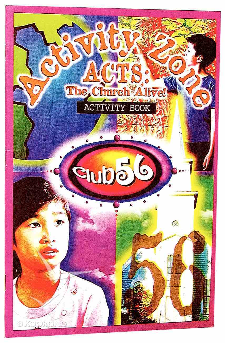 Club 56 Acts Activity Book Paperback