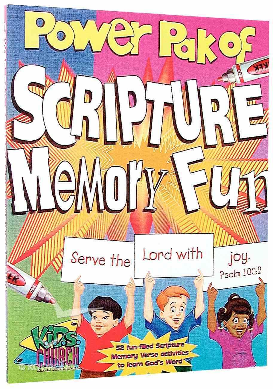 Power Pak of Scripture Memory Fun Paperback
