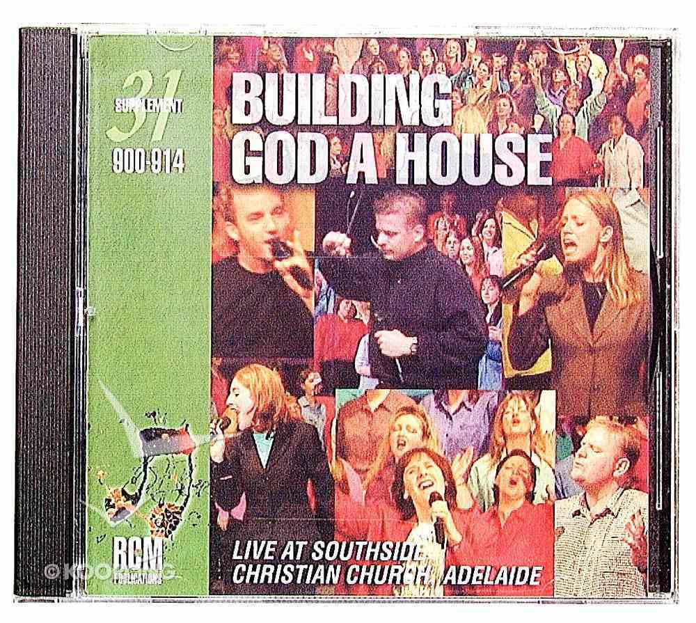 Rcm Volume E: Supplement 31 Building God a House (900-914) CD