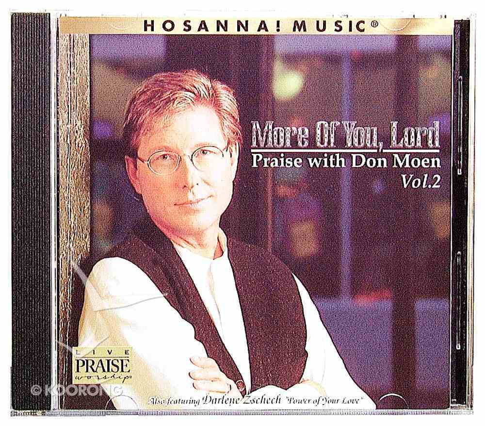 I Will Sing and More of You Lord Pack CD