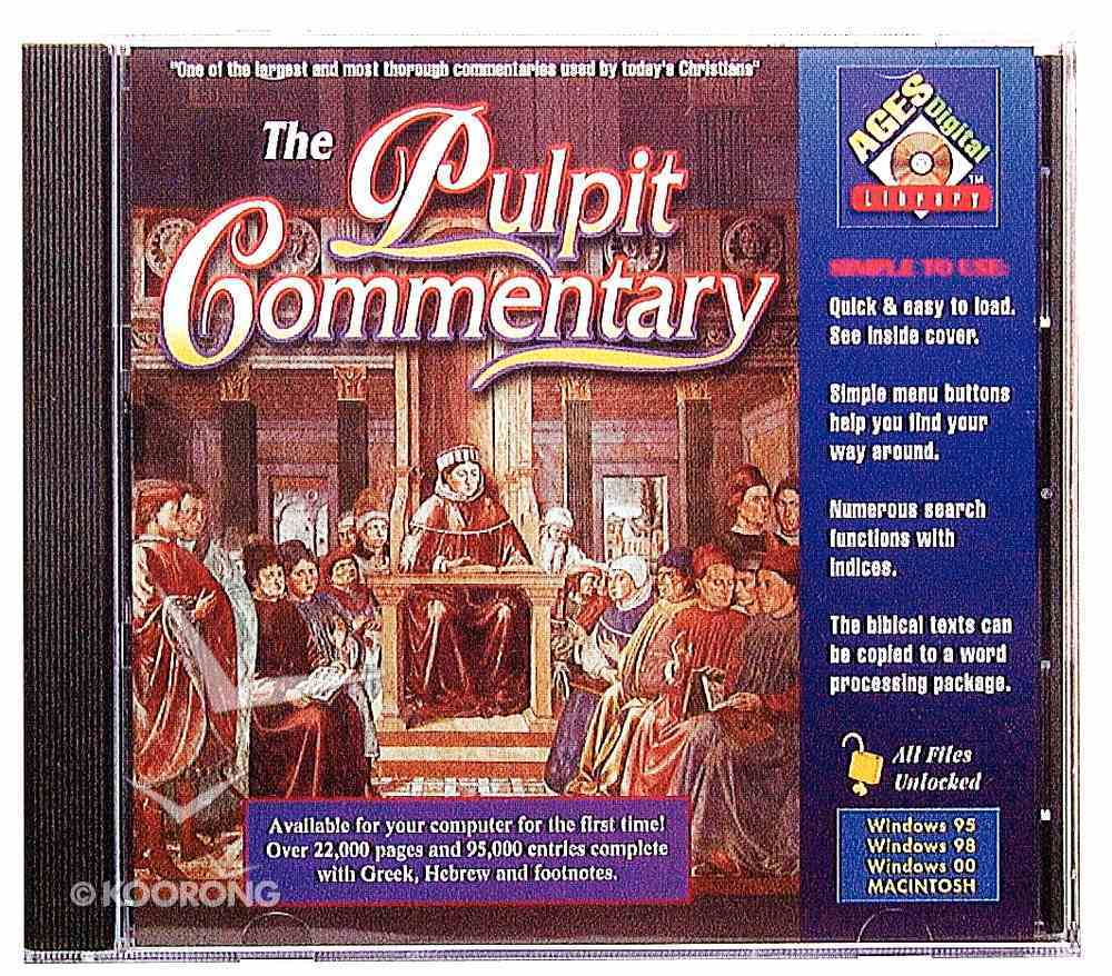 Ages Pulpit Commentary CDROM Win CD-rom