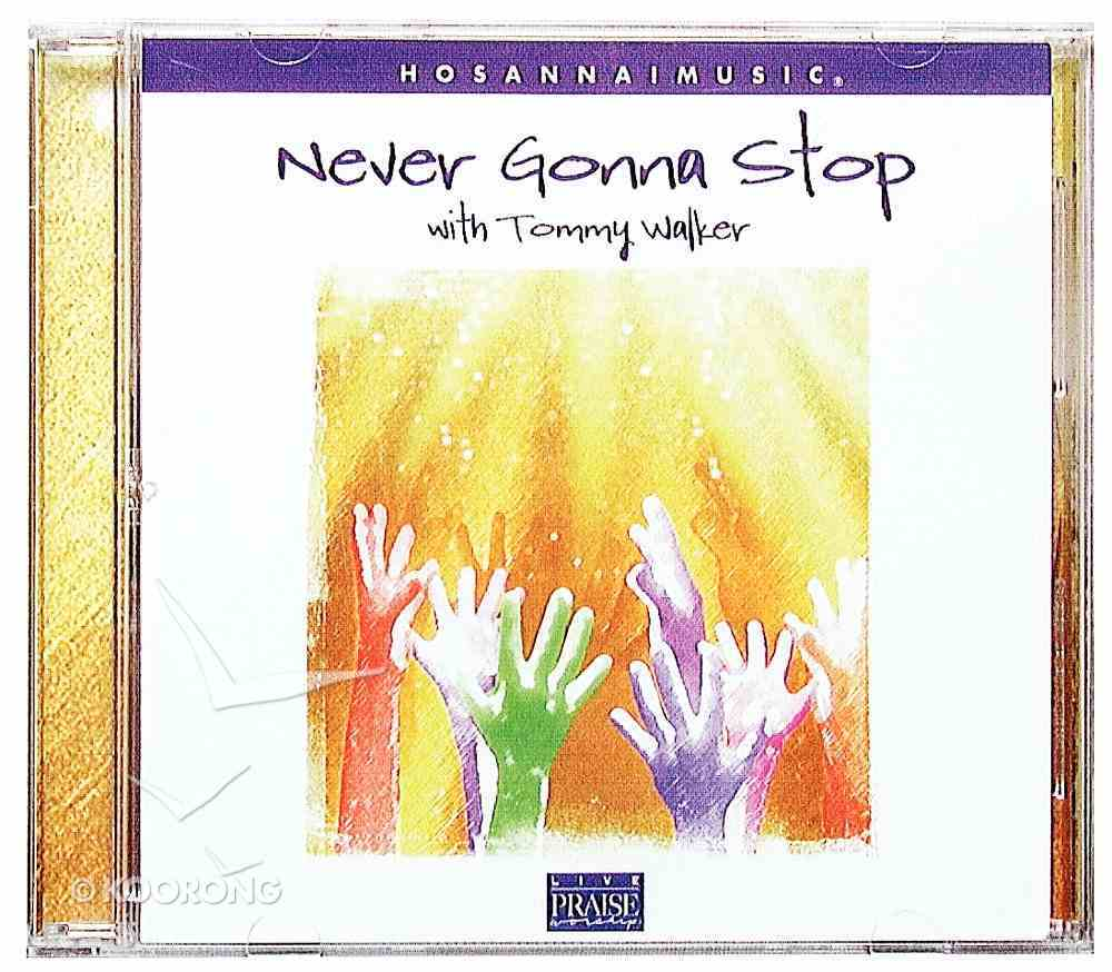 Never Gonna Stop CD