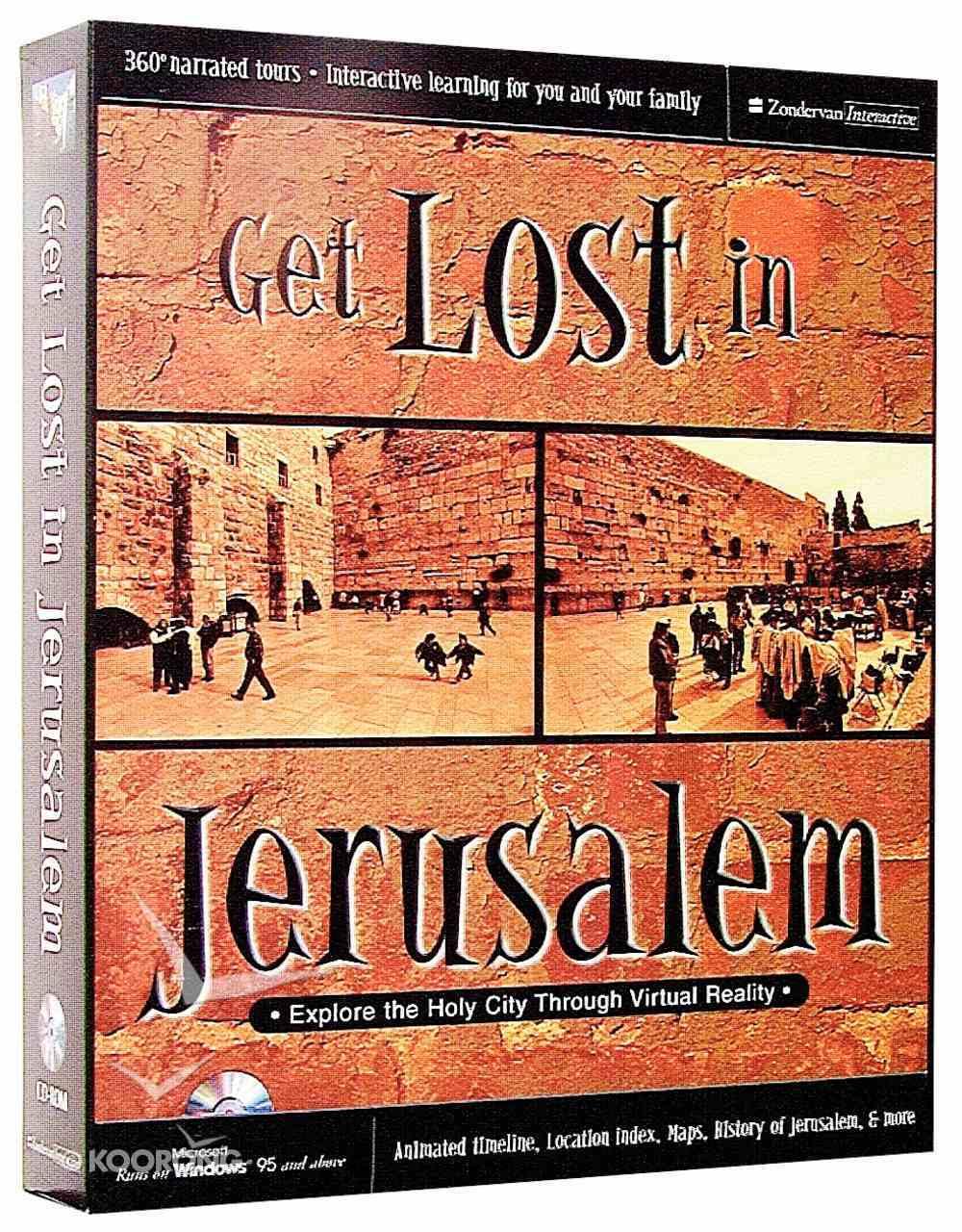 Get Lost in Jerusalem CDROM Win CD-rom