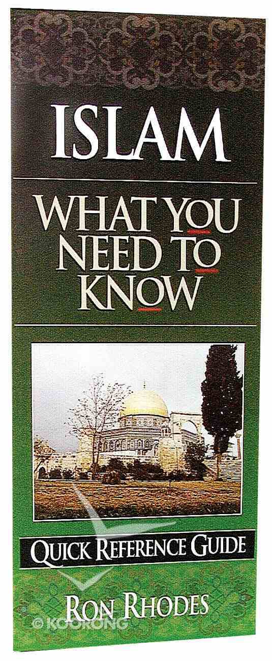 What You Need to Know: Islam Paperback