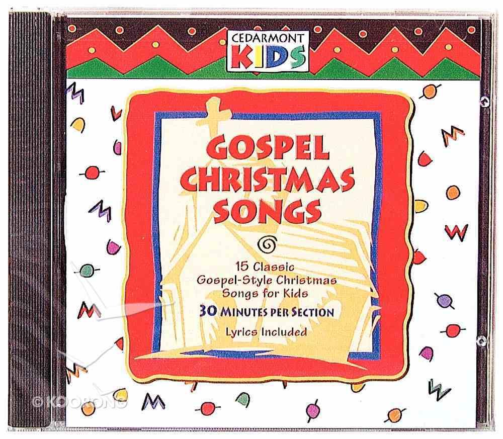 Cedarmont Kids: Gospel Christmas Songs (Kids Classics Series) CD