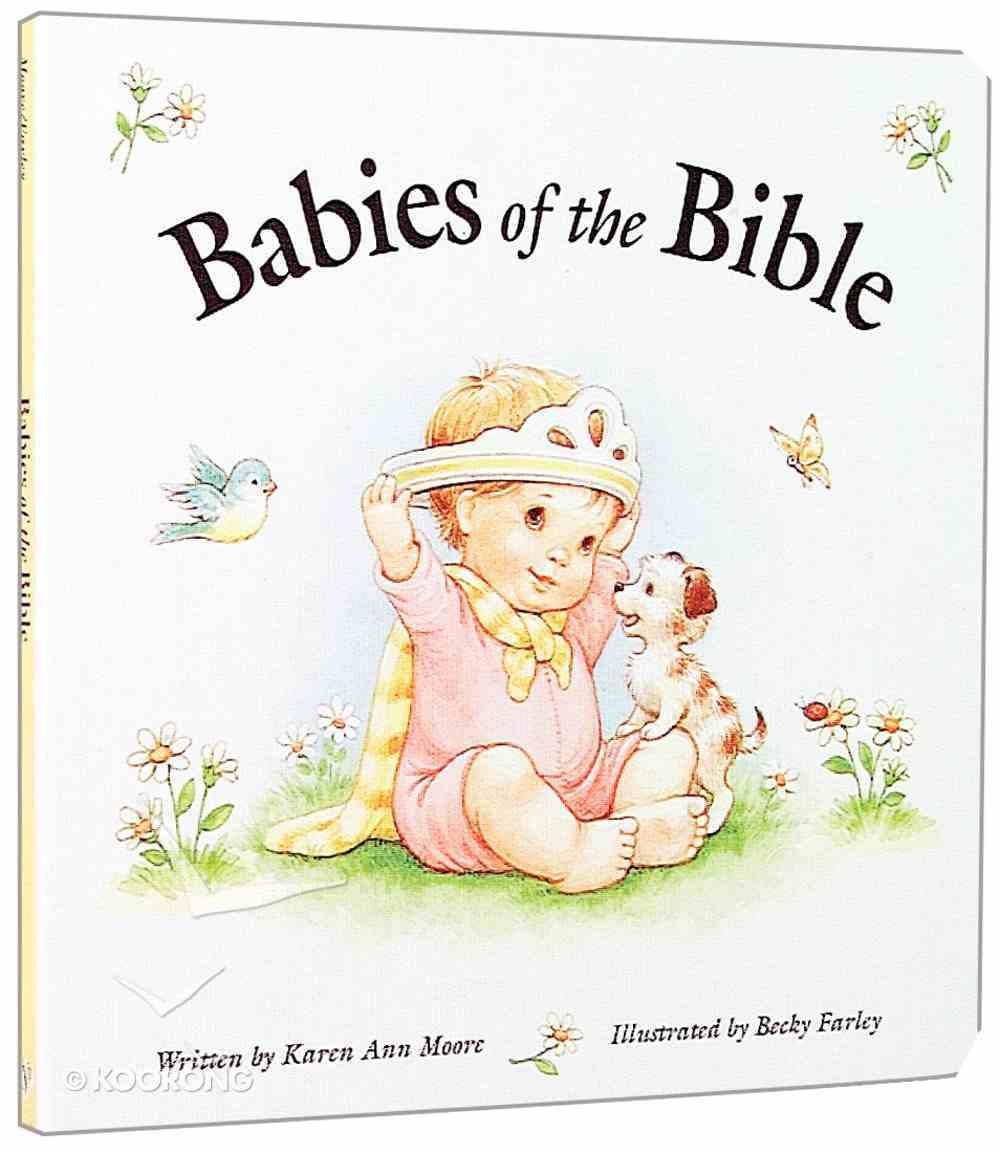 Babies of the Bible Board Book
