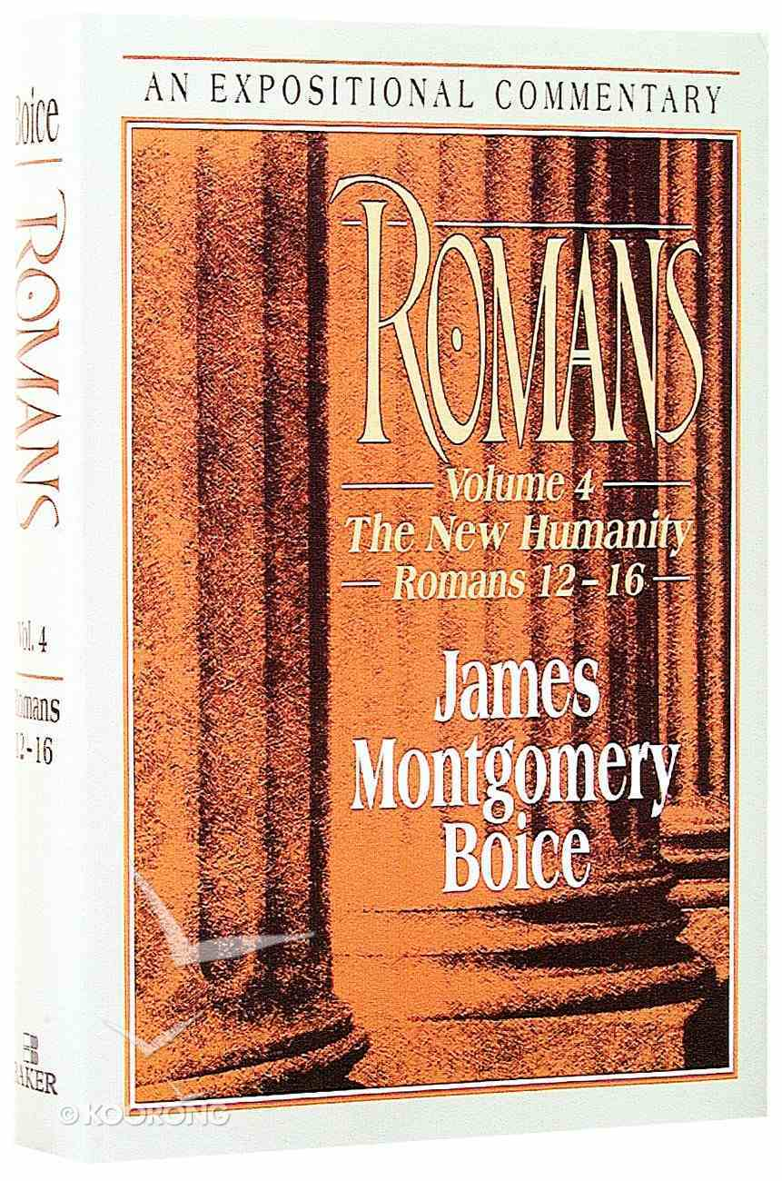 Expositional Commentary: Romans (4 Vol Set) Hardback
