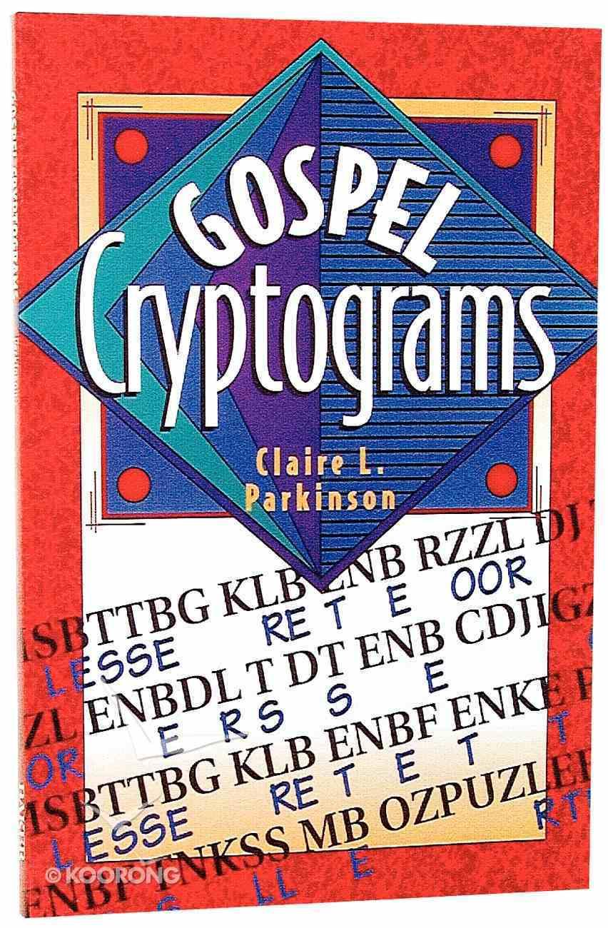 Gospel Cryptograms Paperback