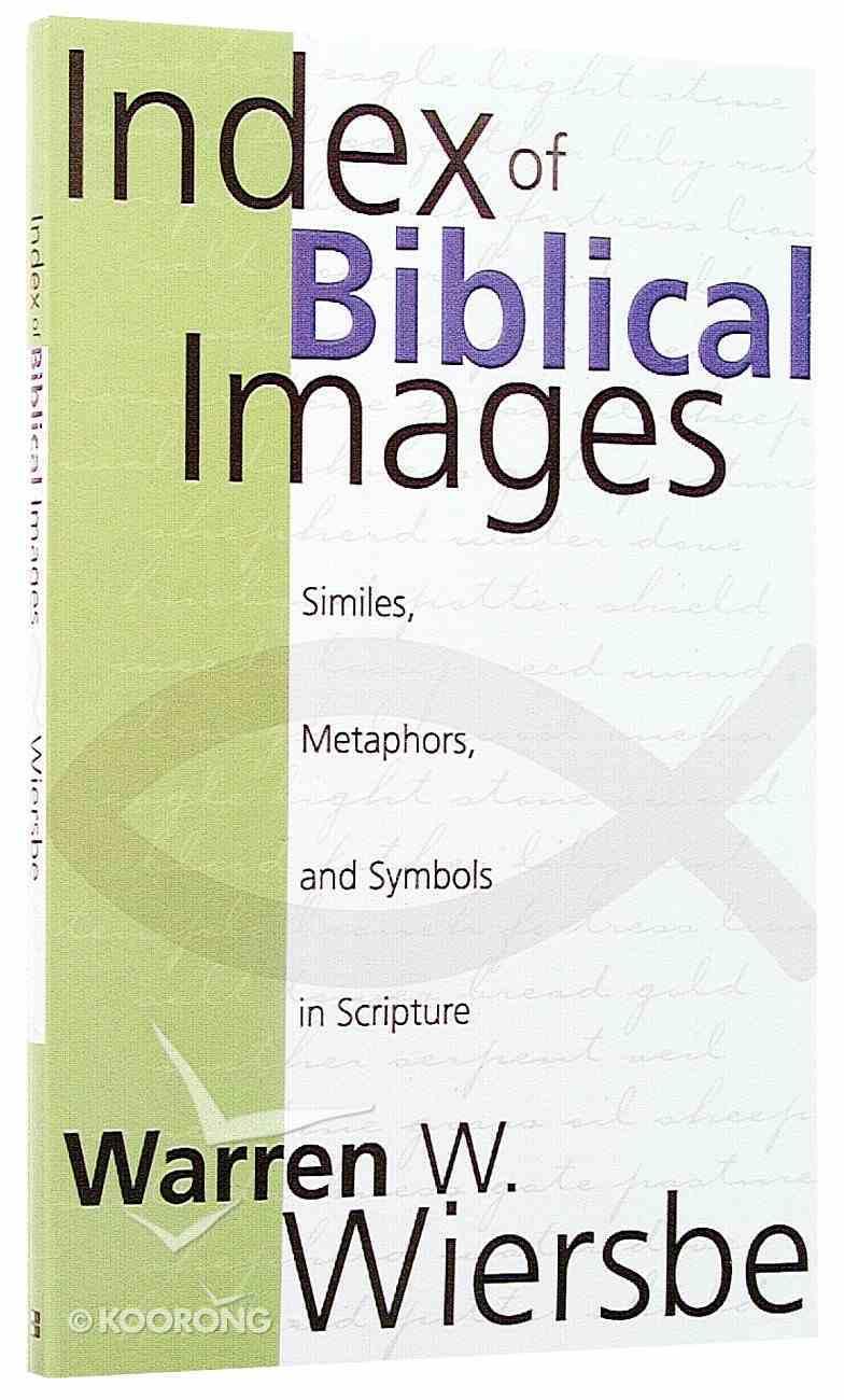 Index of Biblical Images Paperback