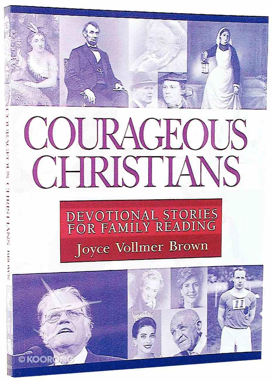 Courageous Christians Paperback