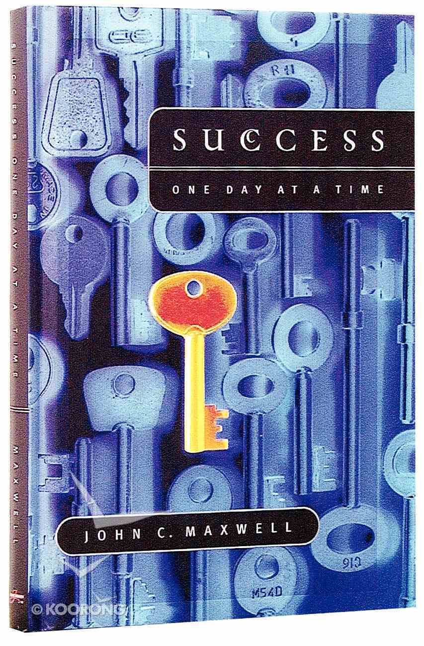 Success One Day At a Time Hardback